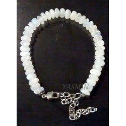 Moonstone Lentil Bracelet