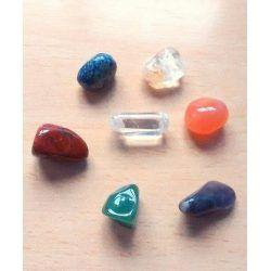 Saquito Piedras 7 Chakras