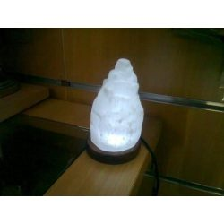 Selenite Lamp USB White Light