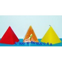 Pyramid Candle Various Colours