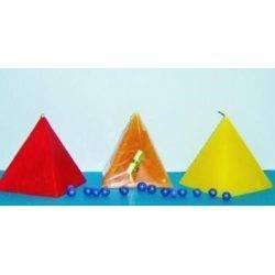 Vela Pirámide Varios Colores