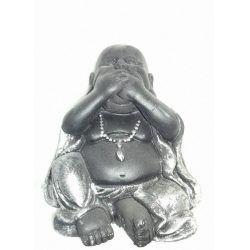 Figuras Buda Niño (No ver-No oir-No Hablar). Set 3 unidades