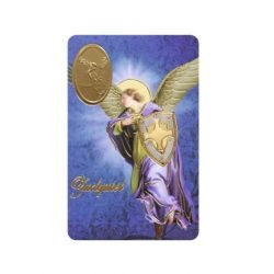Archangel St. Uriel  Print with Medal