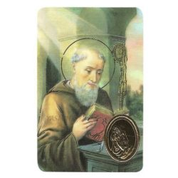 St. Benedict Print with Medal