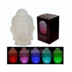 Led Buddha Head Changes Its...