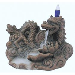 Censer Smoke Waterfall Dragon