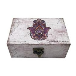 Hand of Fatima Rectangular Box