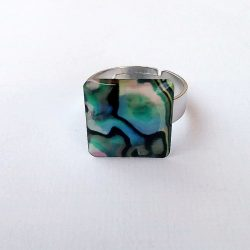 Bague Abalone Adaptable