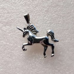 Unicorn Pendant - Stainless...