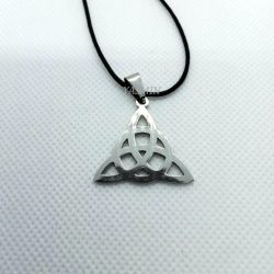 Stainless Steel Triquetra...