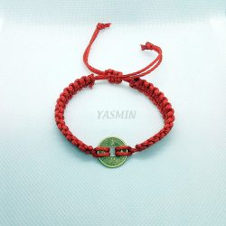 Pulsera Roja con Moneda China