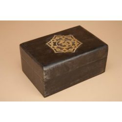 Wooden Box for Tarot with...