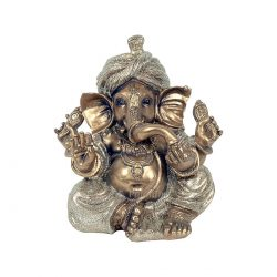 Ganesh Sitting Golden Color