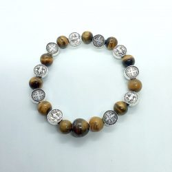 Tiger's Eye Bracelet with...