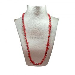 Red Coral Necklace Balls...