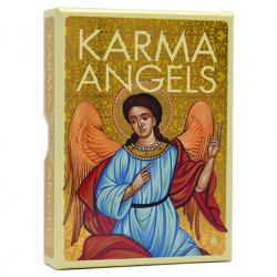 Los ángeles del Karma, oráculo con libro y 32 cartas.