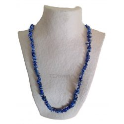 Long Chip Sodalite Necklace