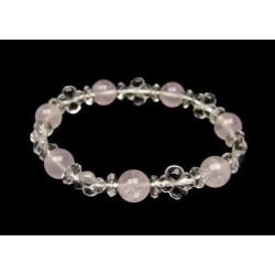 Quartz Clover - Rose Quartz...