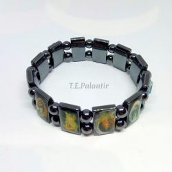 Hematite Bracelet 12 Saints