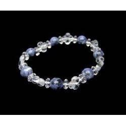 Bracelet Trèfle Quartz -...