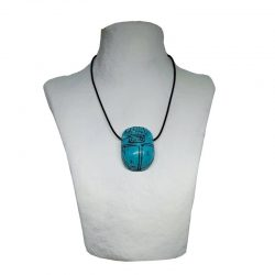 Egyptian Turquenite Scarab...