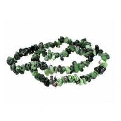 Ruby with Zoisite Chip...