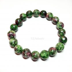Ruby with Zoisite Faceted...