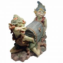 Goblins Carrying Trunk