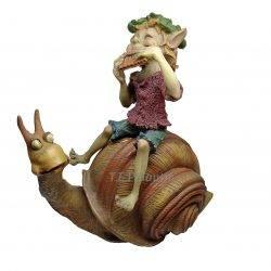 Elf sur un Escargot