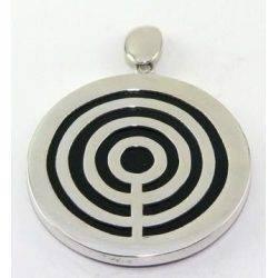 Labyrinth Pendant Onyx...