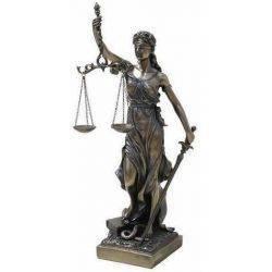 Déesse de la Justice 20 Cms.