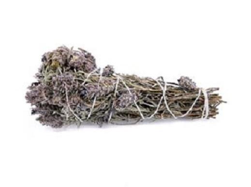 paquet de lavande, l'un des paquets d'herbes les plus largement utilisés.